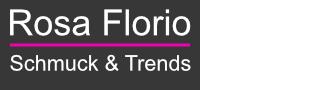 Rosa Florio Schmuck & Trends-Logo